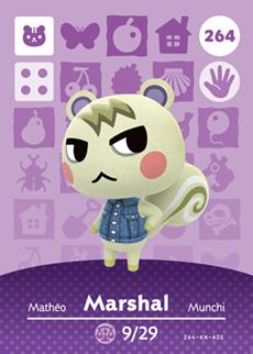 animal crossing marshal