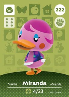 animal crossing miranda