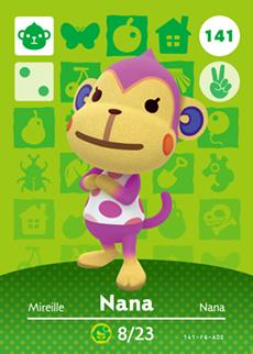 animal crossing nana