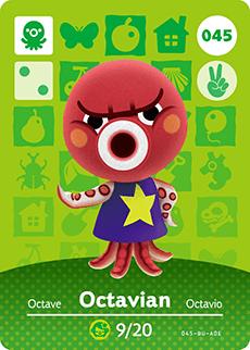 animal crossing octavian
