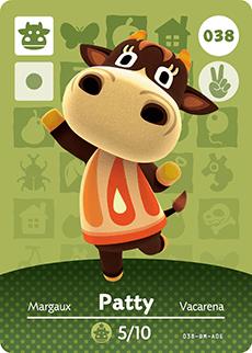 animal crossing patty