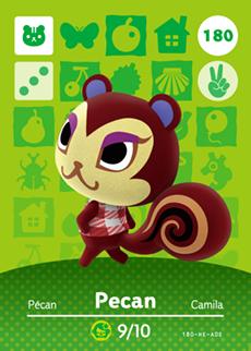 animal crossing pecan