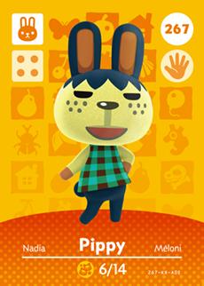 animal crossing pippy