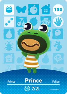animal crossing prince