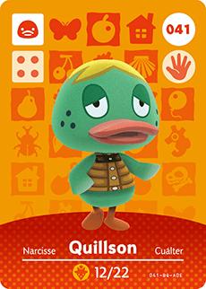 animal crossing quillson