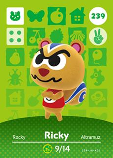 animal crossing ricky