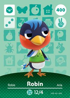 animal crossing robin
