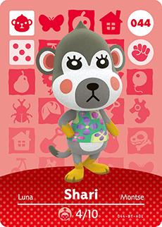 animal crossing shari