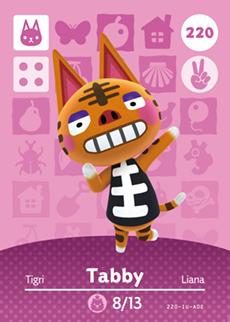 animal crossing tabby