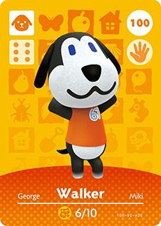 animal crossing walker