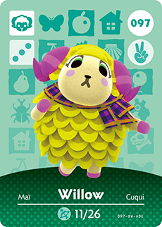 animal crossing willow