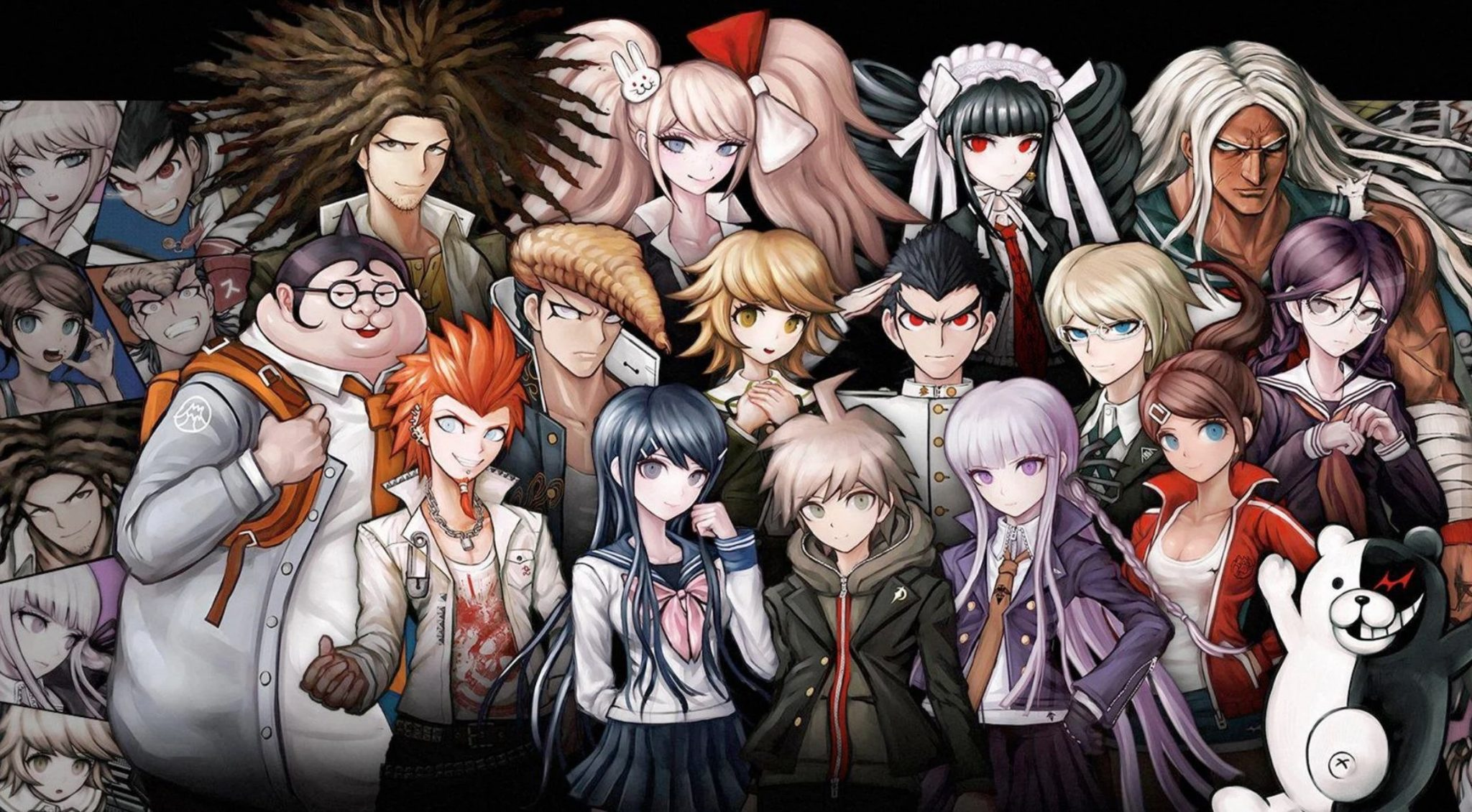 danganronpa anime key art