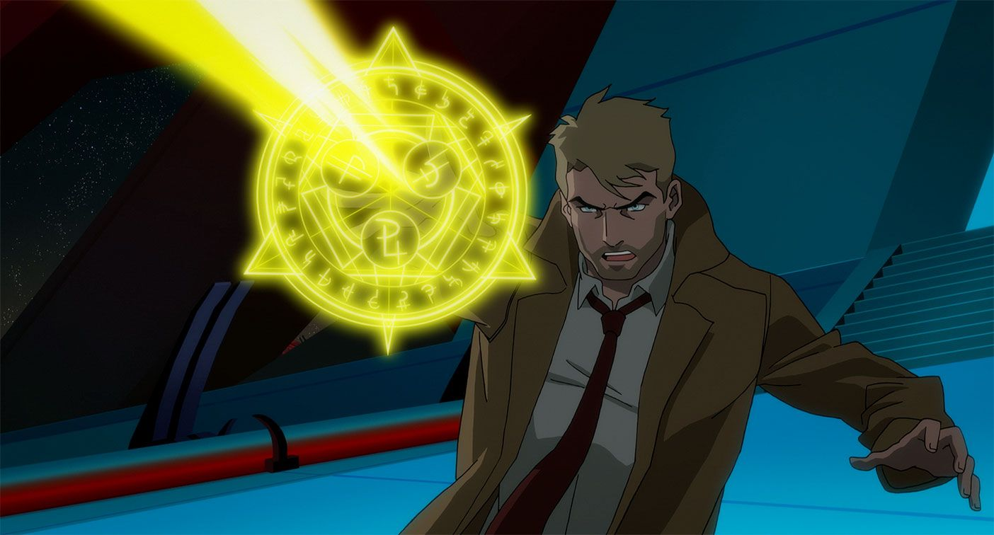 Photo of John Constantine Bottomed for King Shark and That's Canon