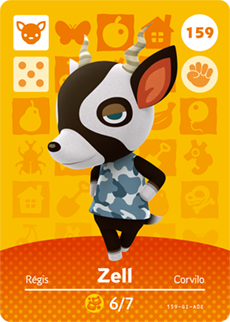animal crossing zell
