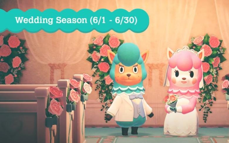 Animal Crossing New Horizons Wedding Season Event