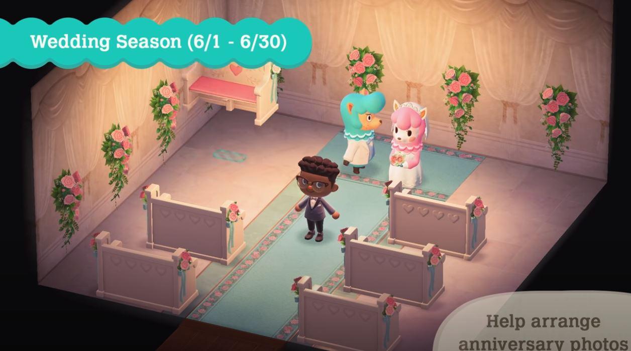 Animal Crossing New Horizons Wedding Season Items