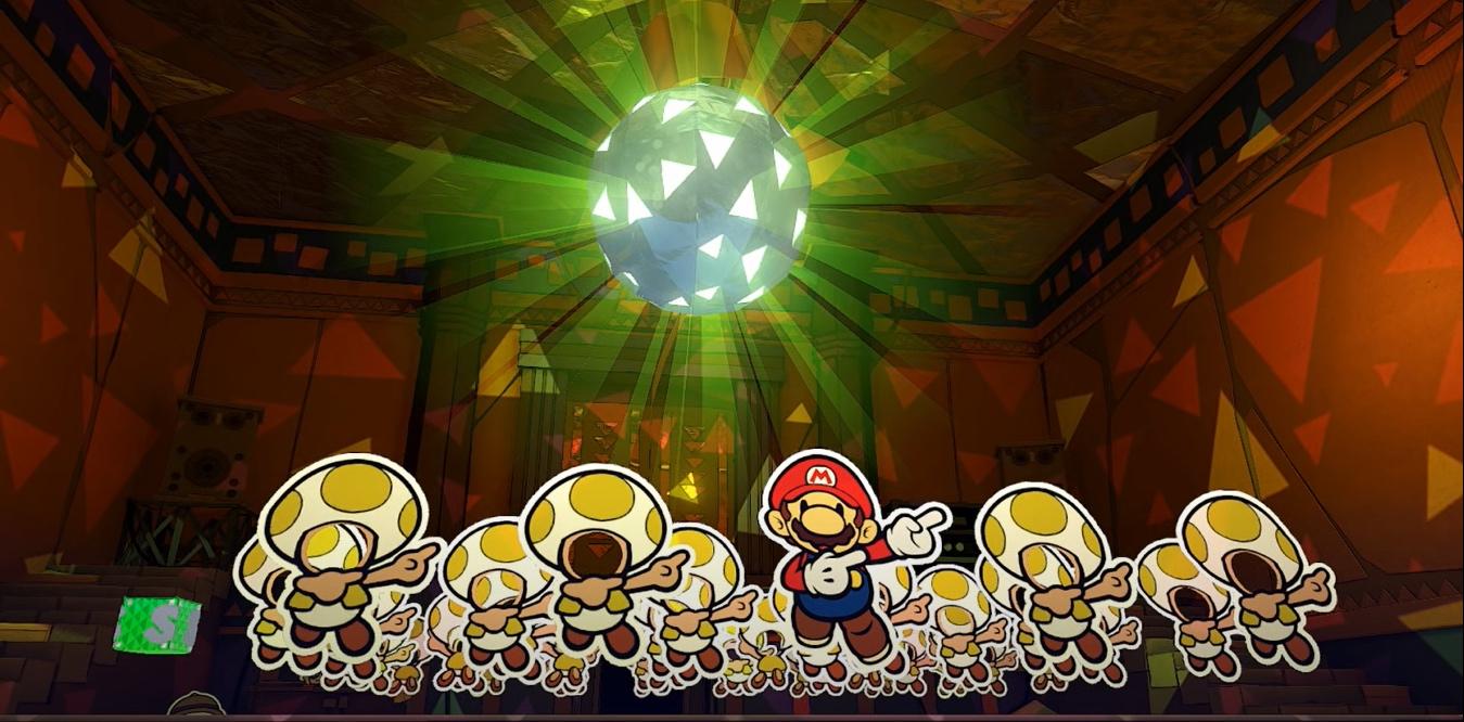 paper mario dance