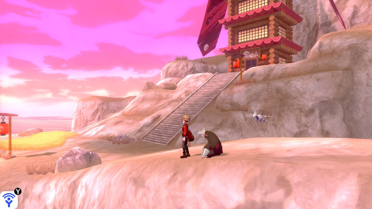Isle of Armor Tower of Darkness Pokemon