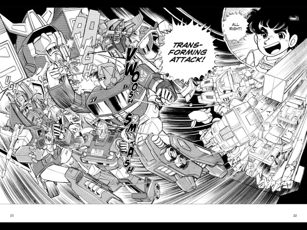 transformers manga