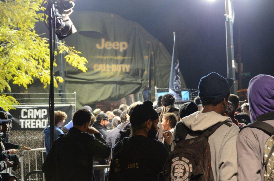 call of duty modern warfare 3 jeep wrangler event