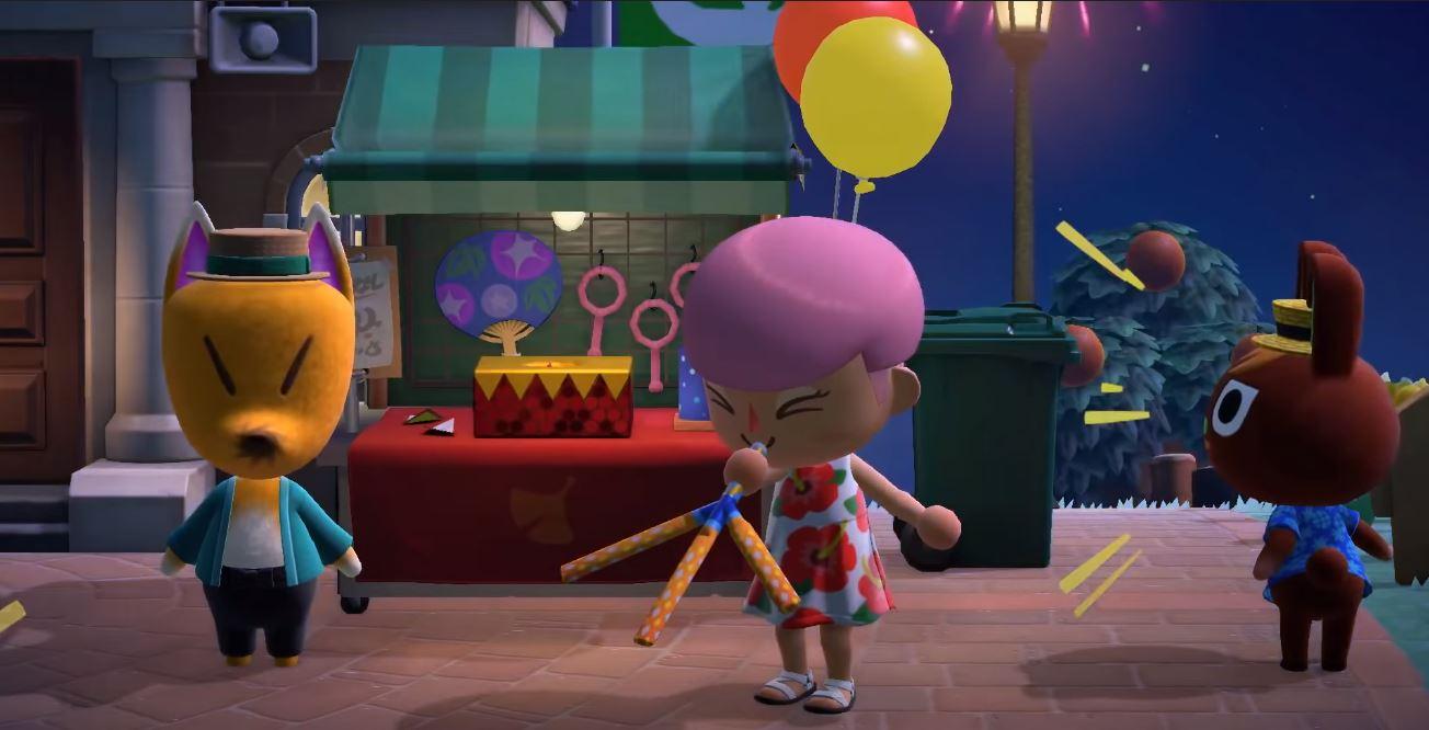 Animal Crossing New Horizons Fireworks Dates