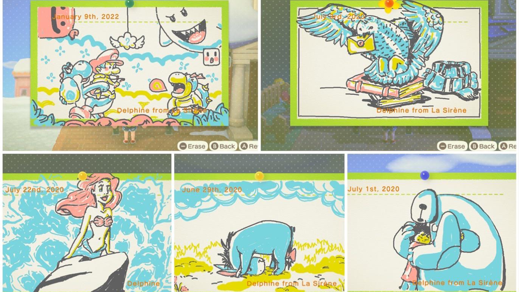 Photo of This Animal Crossing: New Horizons Player Draws Amazing Bulletin Board Art