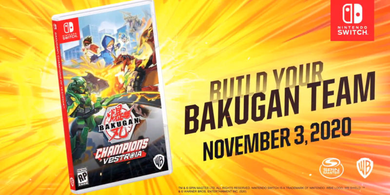 Photo of WayForward Is Releasing a New Bakugan Game in the Year of our Lord 2020