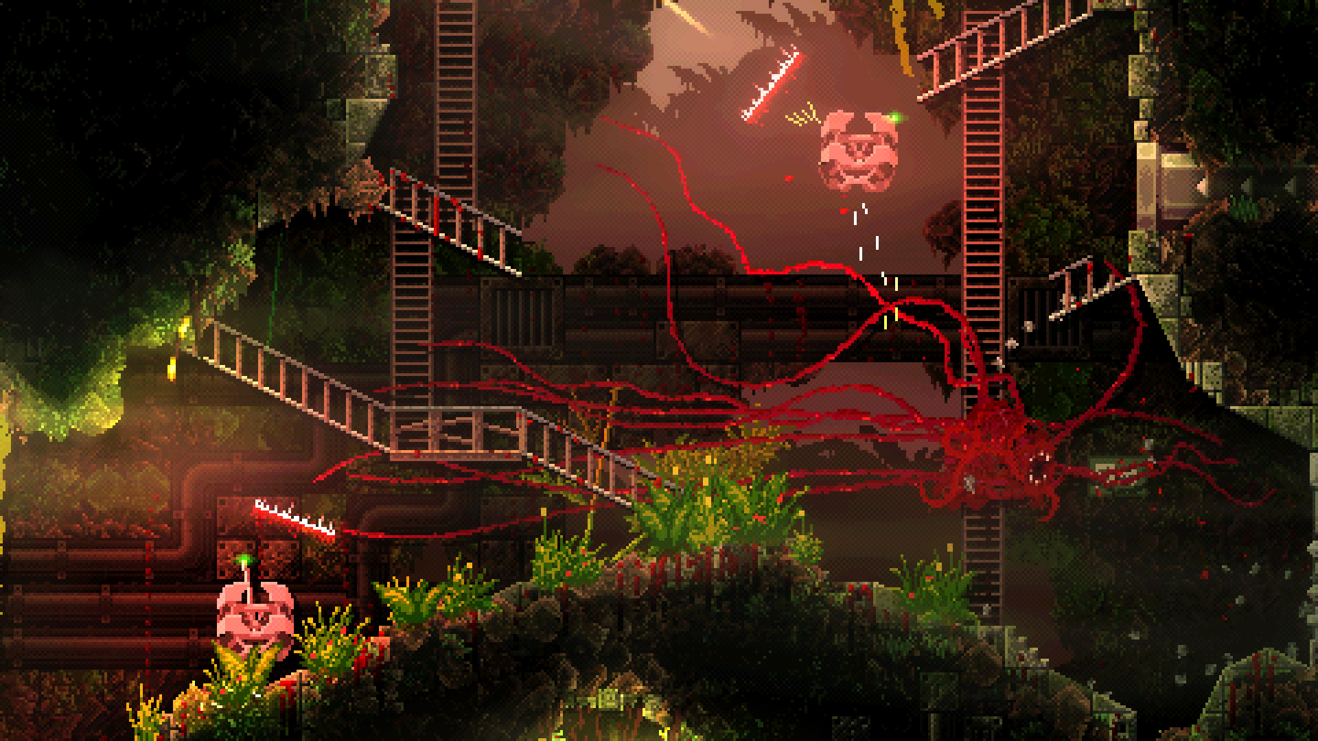 """Photo of Carrion is Bloody Fun, But Not a """"Reverse Horror"""" Game"""