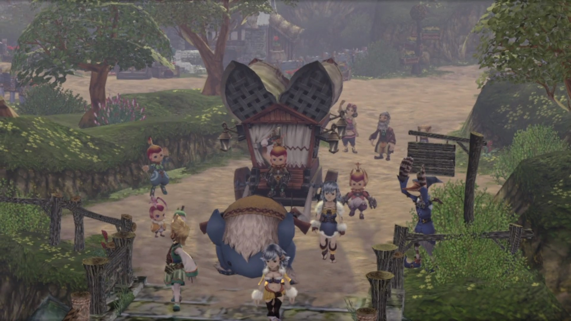 Photo of Final Fantasy Crystal Chronicles Remastered Has Done Away With Local Co-Op
