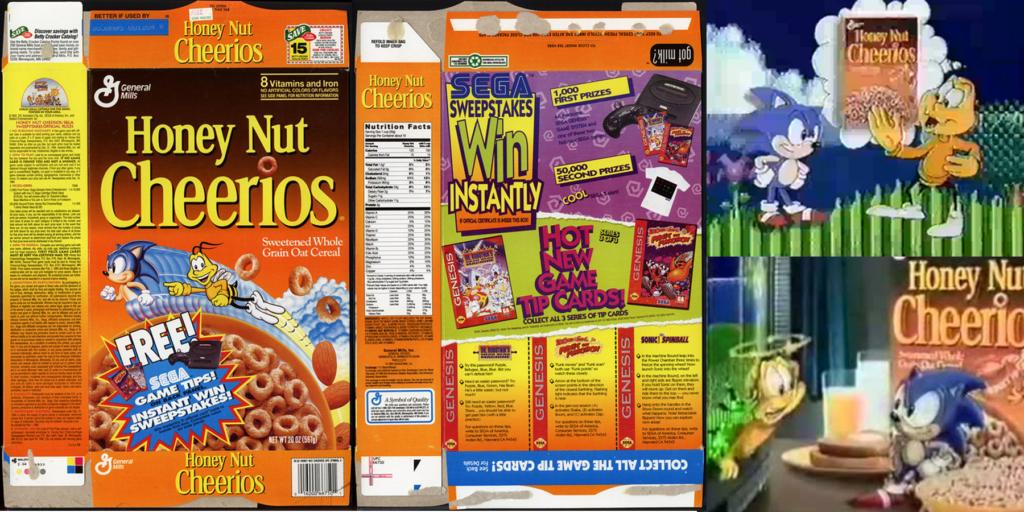 Sonic Honey Nut Cheerios
