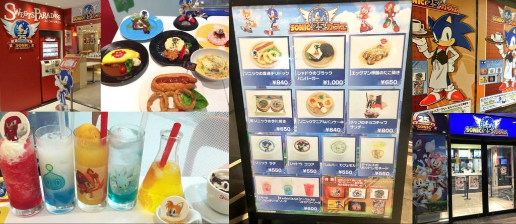 Sweet Paradise/Tokyo Skytree Town Sonic Anniversary Menu