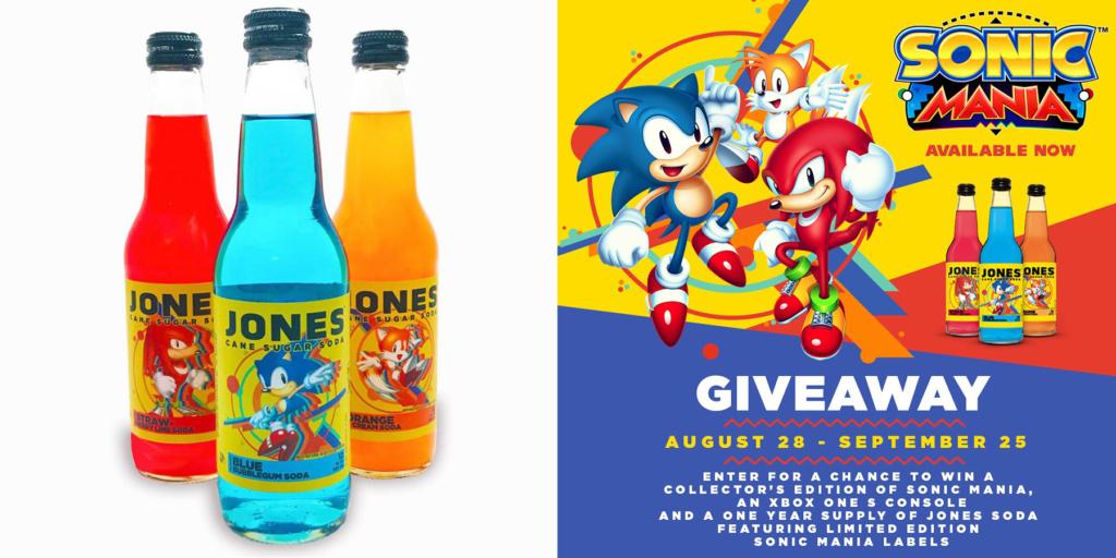 Sonic Mania Jones Soda