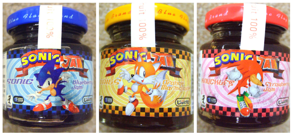 Sonic Fruit Jams