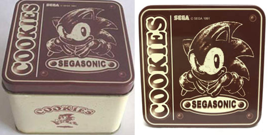 Sonic Cookie Tin