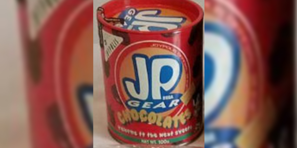 JP Gear Chocolates Sonic