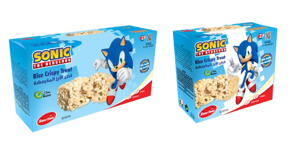 Sonic Rice Crispy Treat