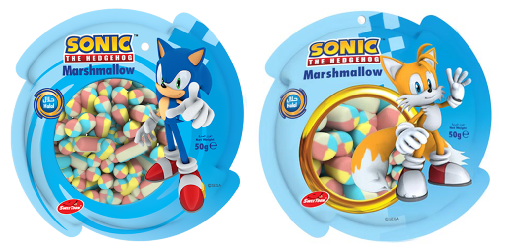 Sonic Mini Marshmallows