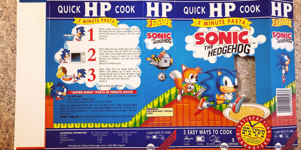 HP Foods Dry Sonic Pasta