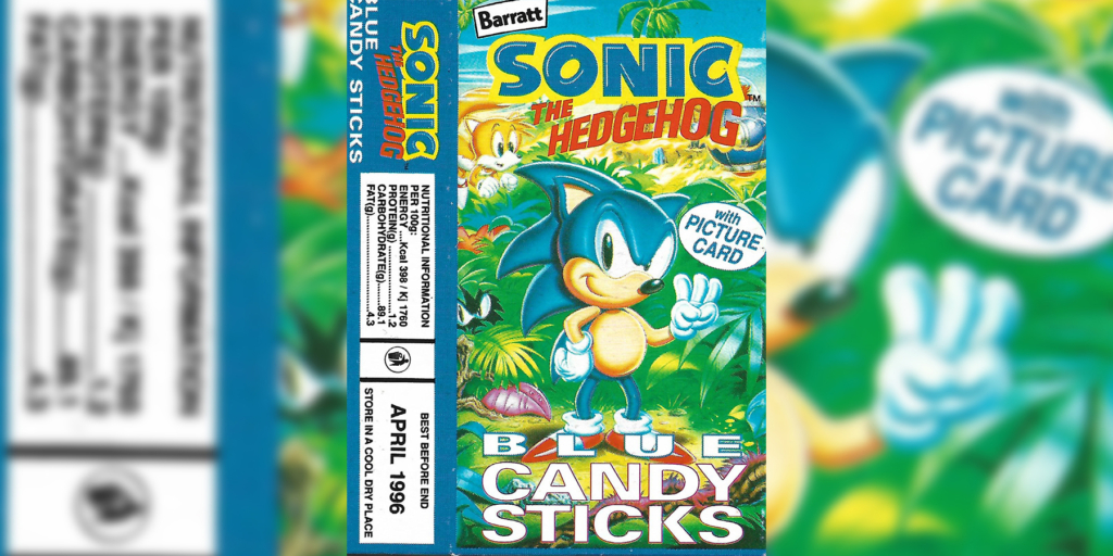 Sonic 3 Blue Candy Sticks