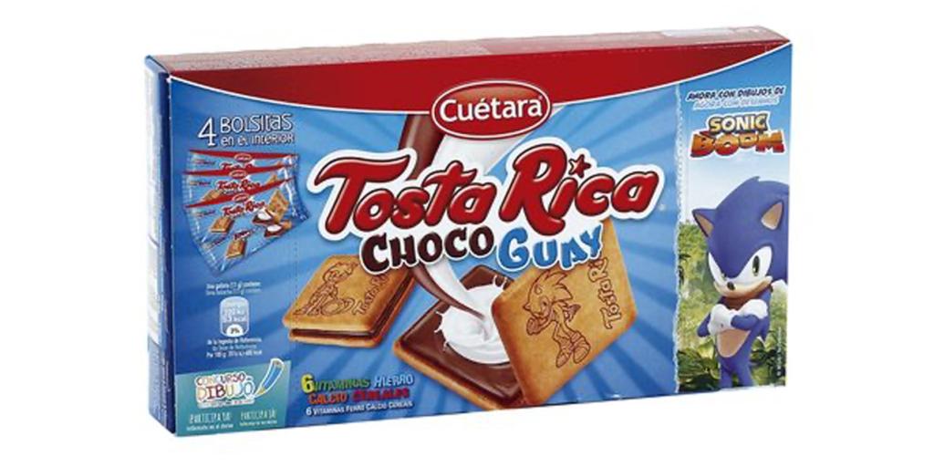 Sonic Boom Tosta Rica Choco Guay