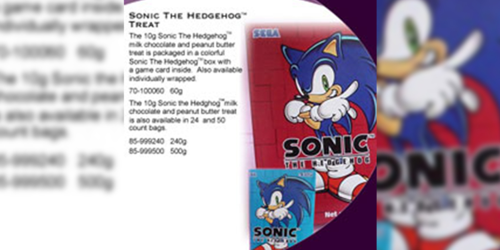 Sonic the Hedgehog Treat - Canada