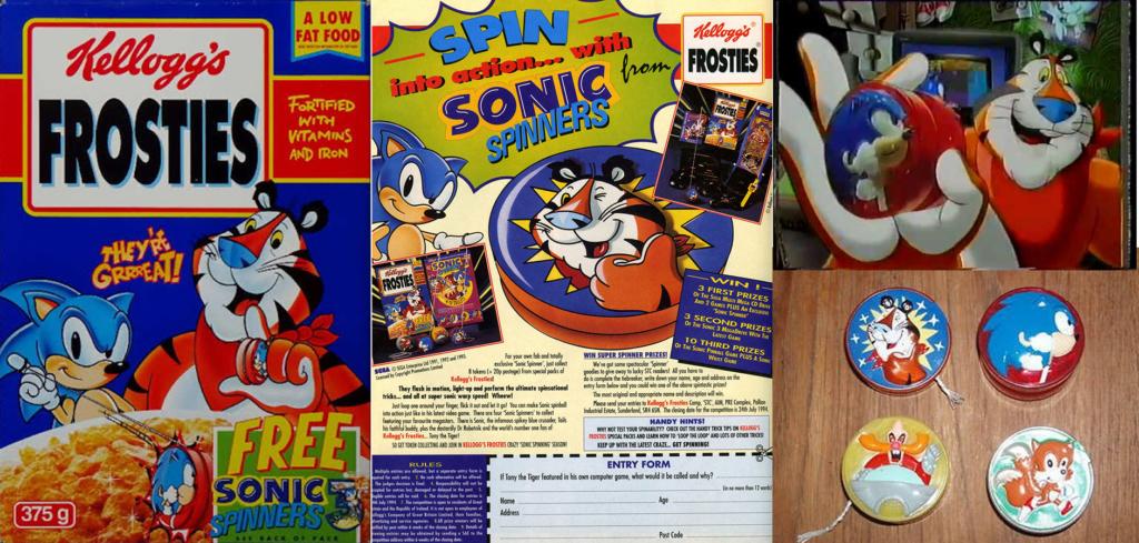 Sonic Kellogg's Frosties