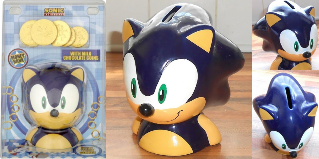 Sonic Bank with Chocolate Coins