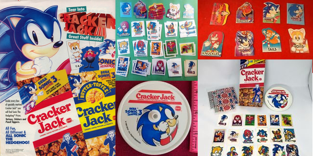 Sonic Cracker Jacks