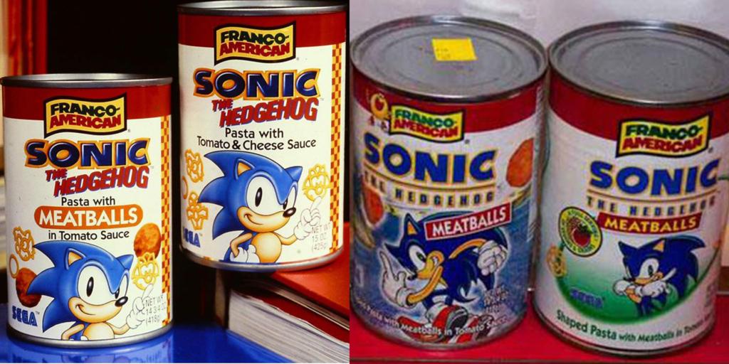 Franco-American Sonic Pasta