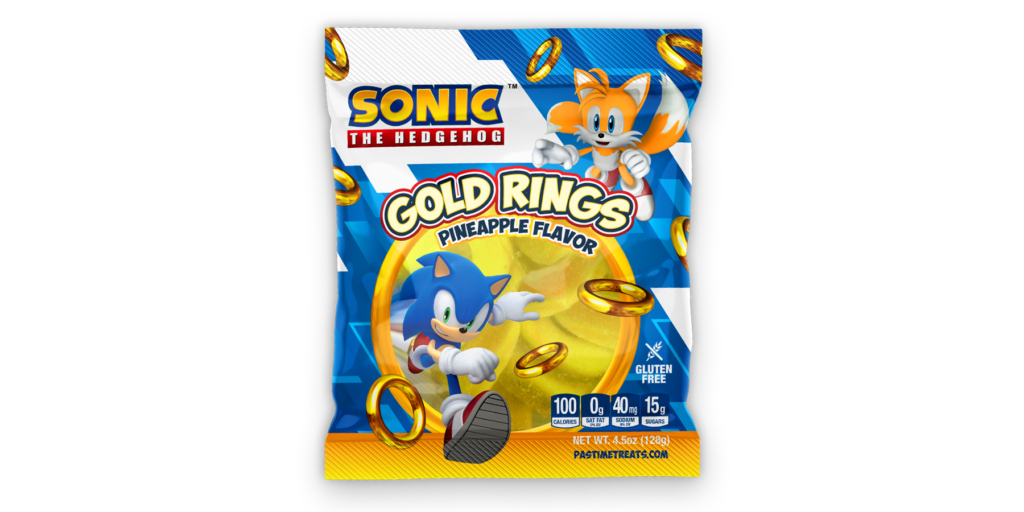 Sonic Gold Gummy Rings