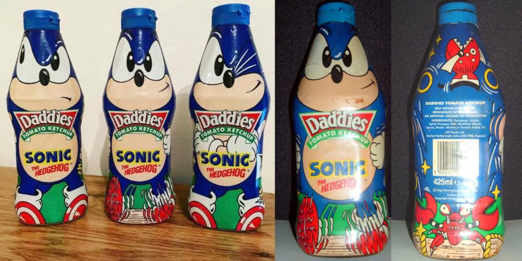 Sonic Daddies Ketchup