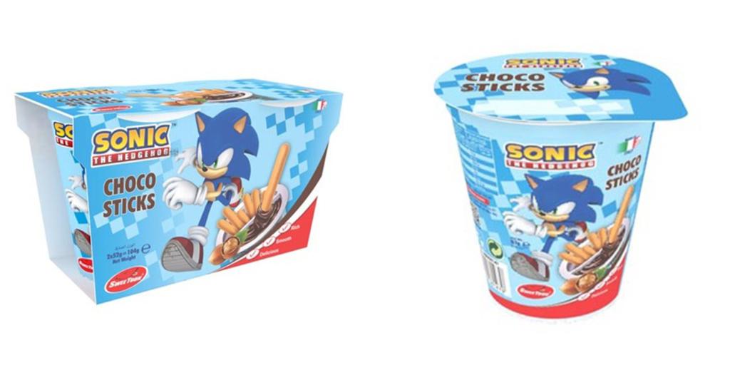Sonic ChocoSticks
