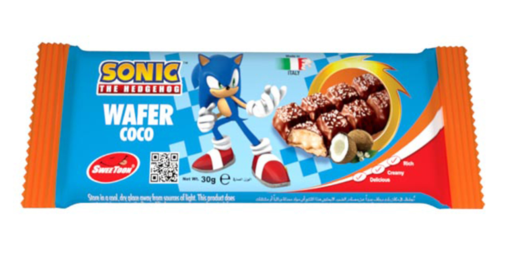 Sonic Coconut Wafers
