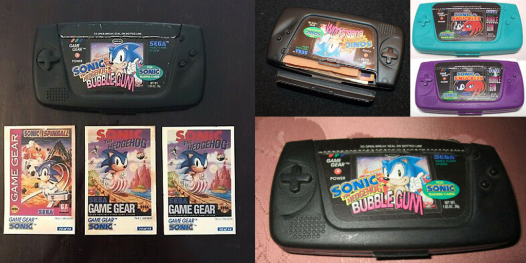 Sonic Game Gear Bubble Gum